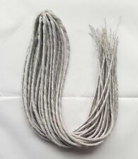 Elysee Star - #60 Silver Blonde Synthetic Dreadlocks (Double Ended) 100g