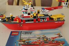 LEGO City Fire Ship Floating Ship - Retired (7207)