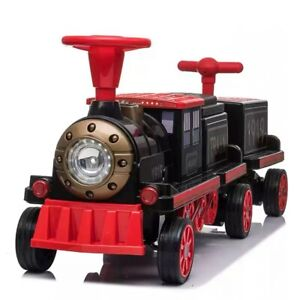 Kids Children Ride on Car 12v 10ah Big Battery Operated Electric Train Carriage