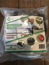 Save Home Combo Safety Straps, Corner Protectors And Safety Locks