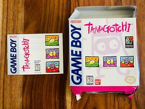 🔥Tamagotchi Nintendo Gameboy GB Box and Manual ONLY a1