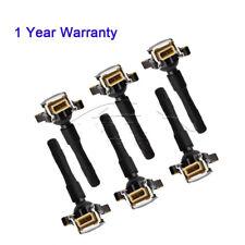 6x for BMW Ignition Coil E46 E36 E39 E38 M62 12131748017 12139067830 12131748018