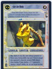 Star Wars CCG Reflections 3 III Foil Jar Jar Binks