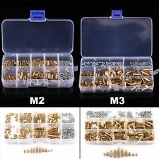 300pcs M2/M3 Brass Hex Column Standoff Spacer Screw Nut Assortment Kit With  Box