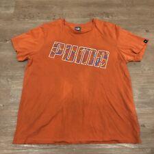 Vintage Puma Big Logo T Shirt Tee