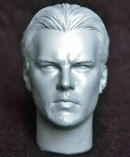 1/6 scale unpainted action figure head sculpt leonardo dicaprio hot dam toys DX