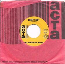 AMERICAN BREED * 45 * Green Light * 1968 #39 * Near MINT ! USA ACTA ORIGINAL