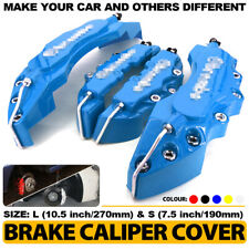 Disc Brake Caliper ABS Blue 3D Style Front Rear Universal Car Truck Covers L+S