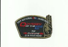 SCOUT BSA OA 1997 JSP JAMBOREE ODYSSEY LAW ORDER OF THE ARROW  JAMBO PATCH WWW !