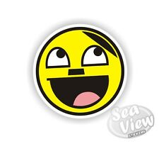 Euro Face Hitler Happy Car Van Sticker Stickers Decal Funny Sticker