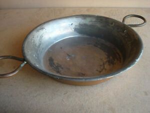 Vintage Copper / Brass Pan