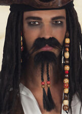 Jack Sparrow Pirate Beard and Moustache
