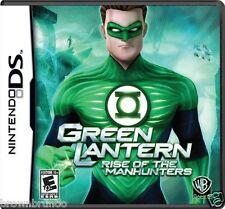Green Lantern Rise of the Manhunters Nintendo DS NEW