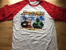 Run The Jewels 2017 World Tour T Shirt Baseball Rap Hip Hop Raglan 3/4 Sleeve