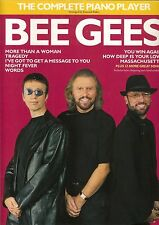 BEE GEES - THE COMPLETE PIANO PLAYER - 20 CHANSONS, Partitions Chords & paroles