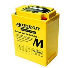 MOTOBATT MBTX14AU PREMIUM AGM MOTORCYCLE BATTERY YTX14AH, YTX14AHBS, YTX14AHLBS