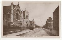 Baptists Church Queens Road Wimbledon London Vintage RP Postcard E Trim 891b