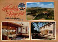 ca. 1960/70 Naturfreundehaus am Dornig bei Staffelstein Bayern, color MehrbildAK