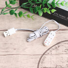 1:12 Miniature Dollhouse USB Socket Charging Cable Doll House Decoration~