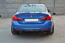 Diffusor ansatz für BMW 4er F32 F33 F36 Heckansatz Splitter rear Side Flaps DTM