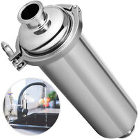 """Inline Strainer Sanitary Filter SS304 1.5""""Tri ClampInline Sanitary BeerFilter"""