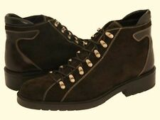 DONALD J PLINER Blane Espresso Brown Casual Hiker Boots Shoes 11.5 Mens RARE DS