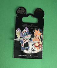 Disney Pin  Lilo and Stitch 5th Anniversary Soda Fountain LE New on Card