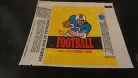 1976 Topps Football Card WRAPPER - EX
