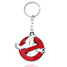 Movie Ghostbusters Design Logo Alloy Key Chains Keychain Keyfob Keyring Gift
