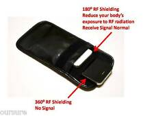 RF / RFID Shieldin Cell Phone Case Handse Bag Porch PU Leather Black 8900207