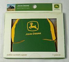 John Deere Ball Cap Metal Patio Screen Saver Cover Holes Fridge Magnet 658639