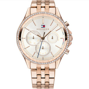 Tommy Hilfiger Women's Rose Gold PVD Plated Watch 1781978 RRP £175
