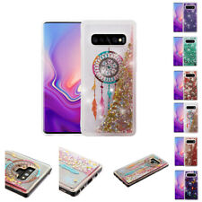 FOR SAMSUNG GALAXY S10 2019 BLING HYBRID LIQUID GLITTER TPU PROTECTOR CASE COVER