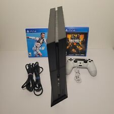 SONY PS4 PlayStation 4 (PS4) Console 500 GB CUH1215A Bundle W/ 2 Games *TESTED*