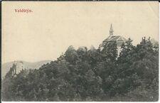 Ansichtskarte Waldstein/Valdstyn - Blick zur Burgruine - schöne Aufnahme - RAR