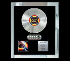 E.L.O. ELECTRIC LIGHT OUT OF THE BLUE MULTI (GOLD) CD PLATINUM DISC FREE POST UK
