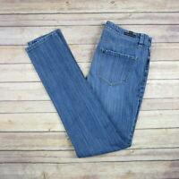 LC LAUREN CONRAD Women's Distressed Skinny Jeans SIZE 8 Medium Wash