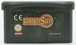 Jeu Golden Sun - Nintendo Game boy Advance GBA SP DS Lite / PAL