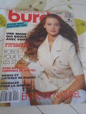 MAGAZINE BURDA  ROBES POUR TOUS LES STYLES UNE MODE QUI BOUGE AVRIL  1992
