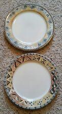 """Sango COFFEE SHOPPE 11"""" Cappuccino & Mochaccino Dinner Plates Set(s) of 2"""