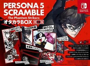 Nintendo Switch Persona 5 Scramble The Phantom Strikers Otakara Treasure BOX