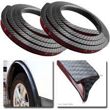 4x Carbon fiber Car Wheel Fender Extension Moulding Flares Trim Strip Edge 1.5m