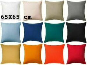 IKEA GURLI Cushion Cover 65 cm x 65 cm 100% Cotton New UK FREE Fast Delivery √