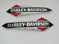 Harley Davidson Tankschilder Tankembleme Tank Embleme 14100957 & 14100958