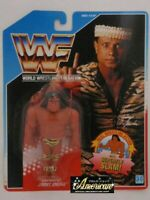 WWF WWE Hasbro  Jimmy Superfly Snuka Wrestling 1991 Blue US Vintage FedEx【JS】