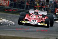 Niki Lauda Ferrari 312 T2 belga Grand Prix 1977 fotografía 2