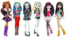 NEW! Monster High Original DOLLS, 6-Pack, Girls TOY Collection FASHION DOLL SET