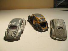 lot de dinky toys VW pour pièces ou à restaurer