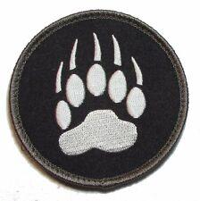 BEAR CLAW K9 DOG TRACKER USA ARMY SWAT MORALE VELCRO® BRAND FASTENER PATCH