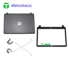 New For HP 15-G 15-R 250 256 255 G3 15.6 LCD Back Cover & Front Bezel & Hinge